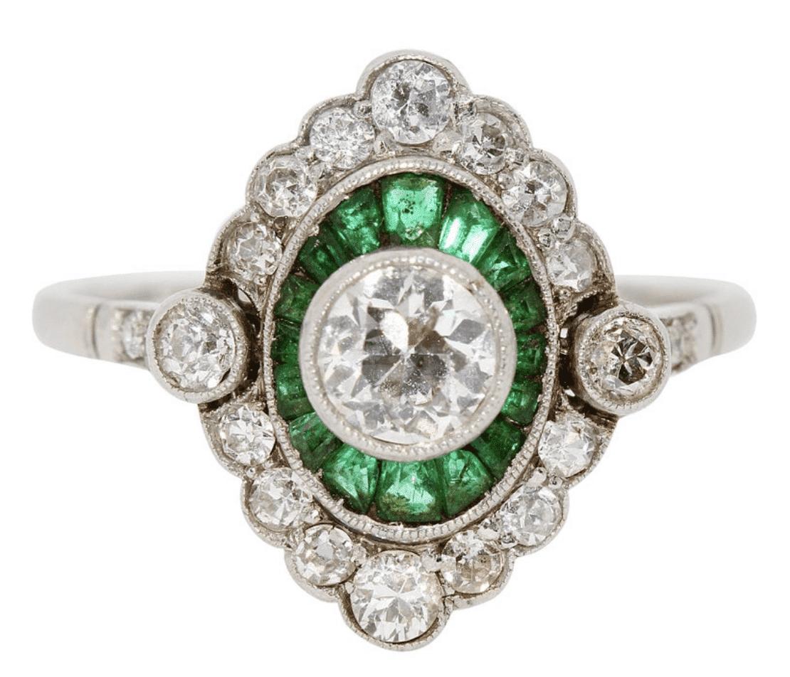 Art Deco Diamant Ring
