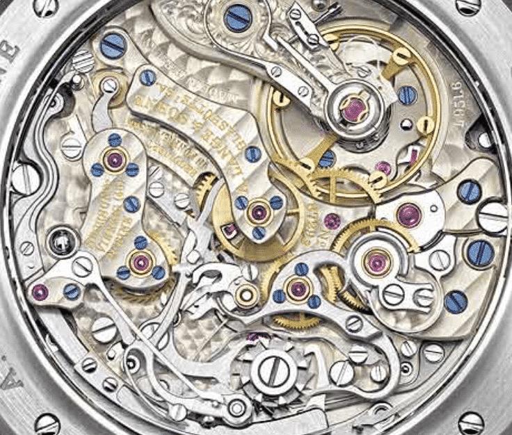 Chronometer Uhrwerk