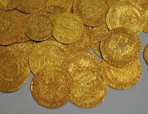 Die Goldmünze