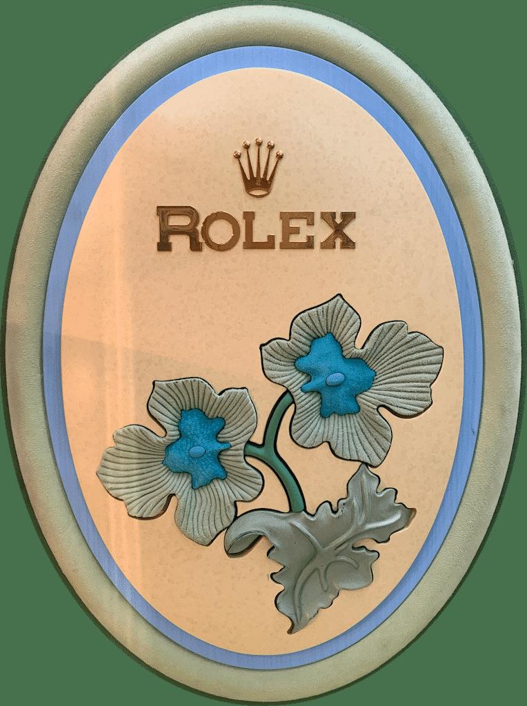 Rolex Dekoration