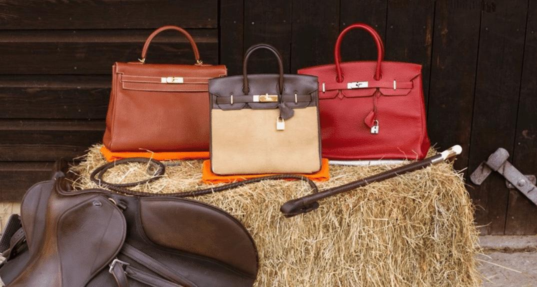 Hermes Leder Designer Handtasche